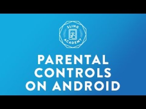 SLING TV: Enable Parental Controls - Android