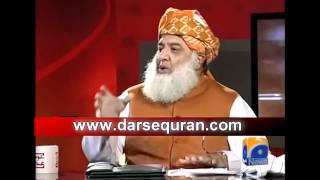 Molana Fazal Ur Rehman - Awaam Ki Adaalat - Geo Tv