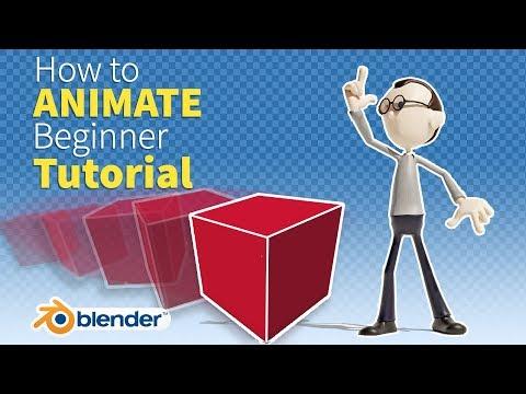 How to Animate in Blender - Beginner Tutorial