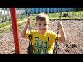 Vlog Как выглядит Детская Площадка в Америке / Сhildren playing at the playground