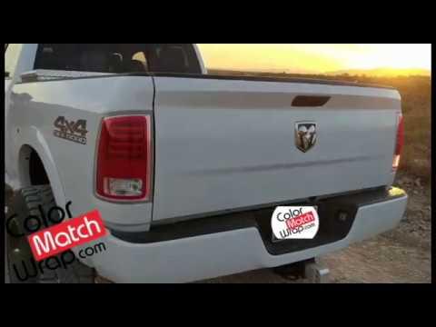 Body Paint Color Match Vinyl Car Wrap - Bumper Trim Chrome Delete