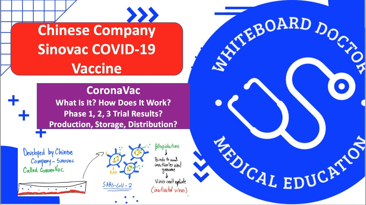China's Sinovac CoronaVac COVID-19 Vaccine: How Does It Work, Phase 1/2/3 Trials, And Roll Out!