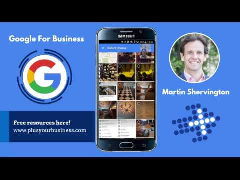 How to add a business to the map, using 'Google Maps'