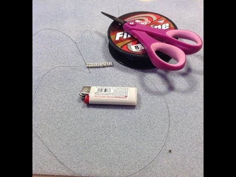 Video #4 Threading a beading needle and adding thread to a project