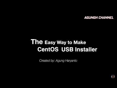 How to Make CentOS USB Flashdisk Installer