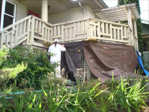Power Washing Preparing & Painting Railings Decks Stairs Walkways Seattle Healthy Painting, L.L.C.