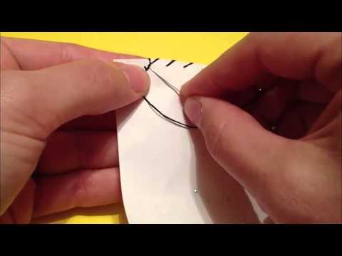 4 Overstitch Knot 1