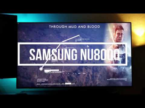 How good is the Samsung NU8000 for PC gaming