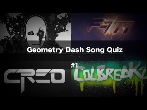 Guess The Song - Geometry Dash Song Quiz #1
