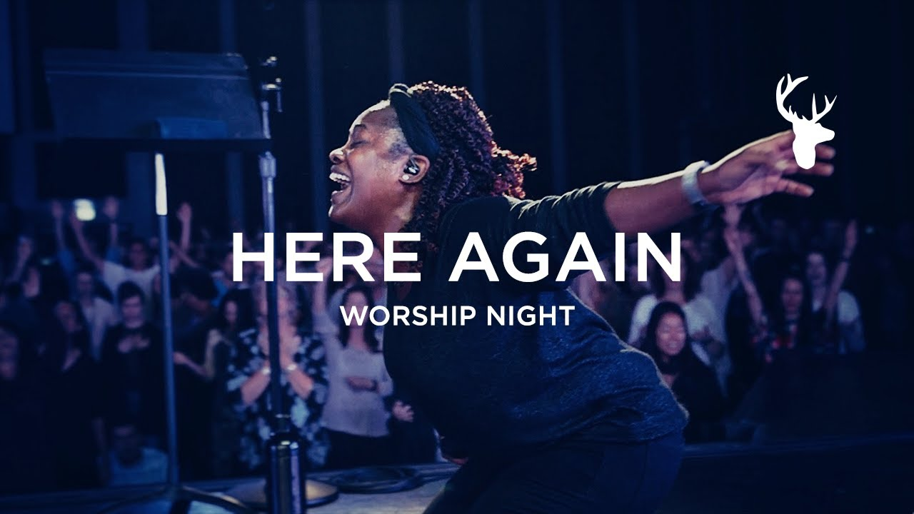 Rheva Henry - Here Again (Spontaneous - I Want More)   Worship Night