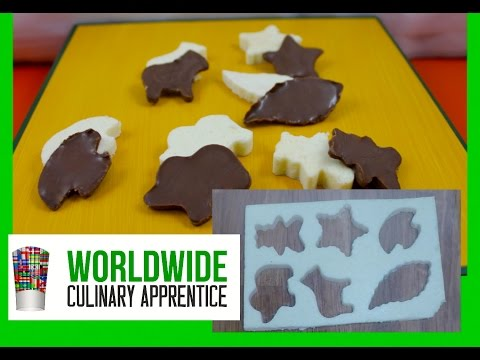 A Chocolate Treasure - How to make Chocolate Garnish - Decorations for Desert Plating