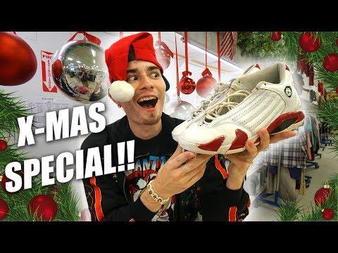 Trip to the Thrift #210 | A Christmas Special! JORDAN 14 CANDY CANES & OG NAUTICA FLAME!