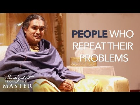 How to help people who repeat their problems? - Insights from the Master