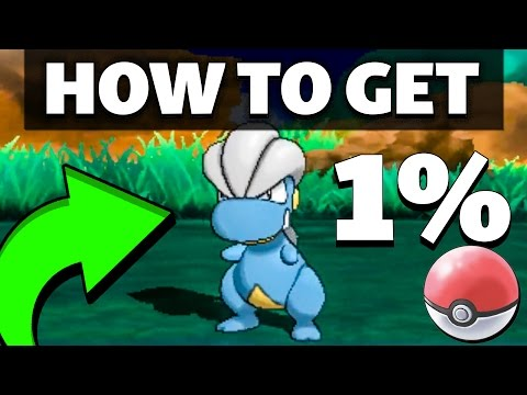 HOW TO GET 1% Bagon in Sun and Moon
