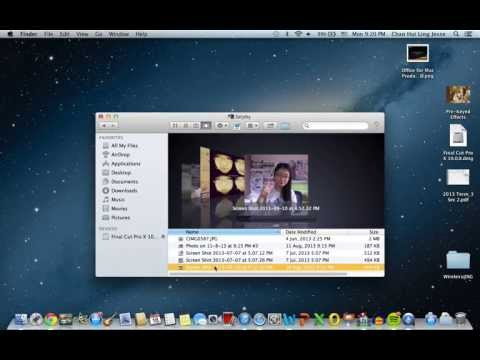 How to insert pictures into folder icons (Mac)