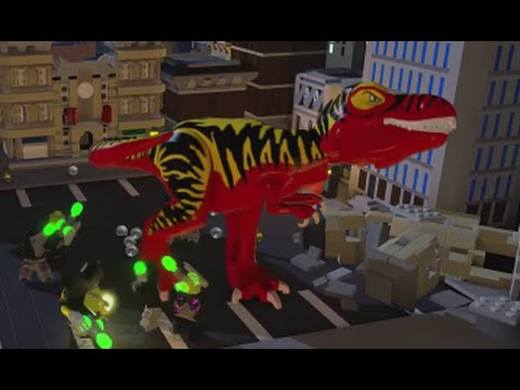 LEGO Batman 3: Beyond Gotham - All 16 Plastic Man Red Brick Transformations