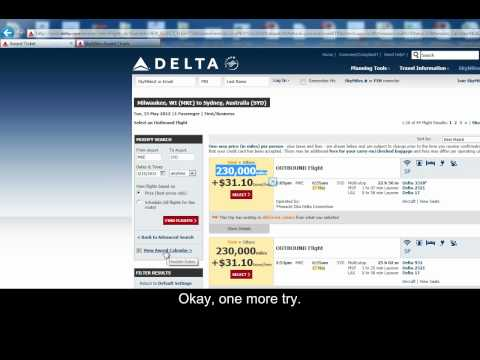 Award Ticket Booking Madness on Delta Air Lines