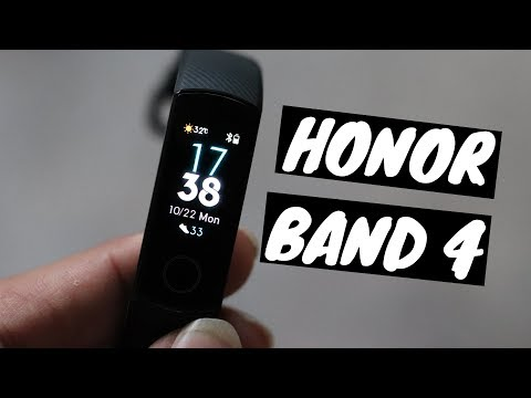 Huawei Honor band 4 India unboxing & First Look