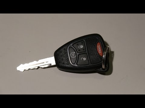 Jeep key fob battery replacememt