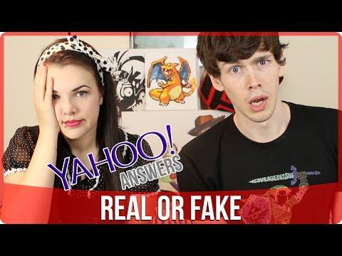 Yahoo Answers: Real or Fake | Cherry Wallis & Tom Burns