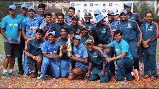 Sarfaraz Stars As India Win U-19 Tri-Series