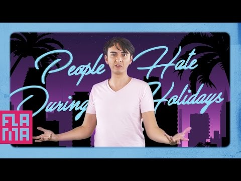 5 People I Hate During The Holidays... I'm Sorry Con Excuse Me!