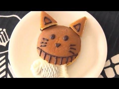 Osakana Kuwaeta Doraneko (Wagashi) お魚くわえたどら猫 (和菓子)