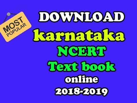 SSLC Karnataka New syllabus NCERT text Book download online 2018-2019