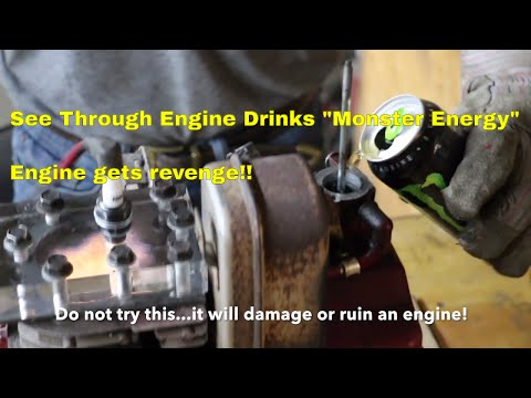 See Through Engine Drinks