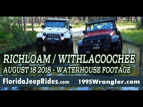 The Richloam Waterhouse footage Withlacoochee forest Jeep ride