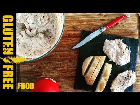 How to make easy tuna spread - gluten free recipe