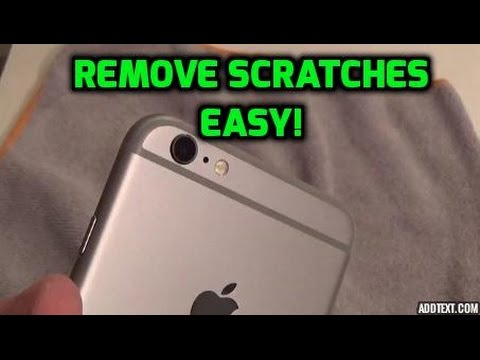 How To: Remove Scratches On iPhone