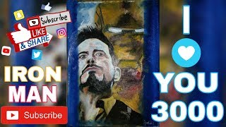 Download OIL Painting Time-Lapse ৷ Iron Man (Robert Downey Jr.) #Art of Marvel characters#3 Video