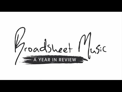 Teaser: Broadsheet Music: Year in Review