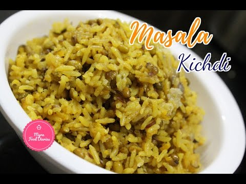 5 Minutes Khichdi | Masala Khichdi Recipe in Hindi | Khichdi Recipe | Moong Daal Khichdi Recipe