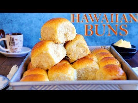 How to Make Hawaiian Buns (TangZhong Method) 夏威夷麵包-湯種法