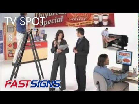 2010 Commercial for FASTSIGNS National Sign Program (Long)
