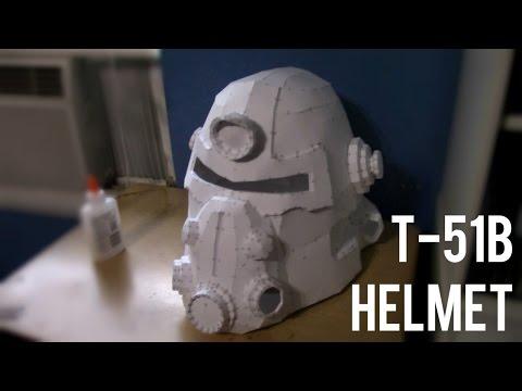 Fallout - T-51b Helmet (Pepakura Build)