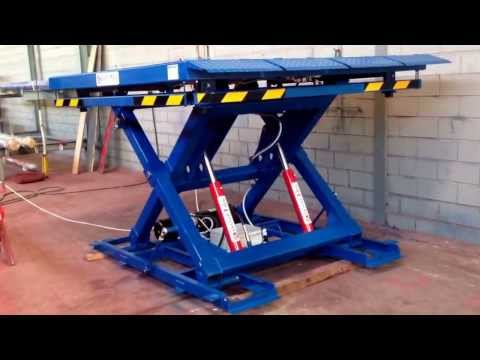 BIOFIAL HYDRAYLICS - Hydraulic Scissor Lift Platform for cargo up to 2 ton