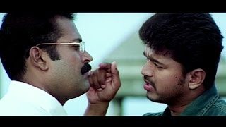 Vijay threatens Manoj K. Jayan | Thirumalai | Tamil Scene 12