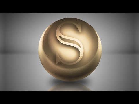 Create 3D Golden Logo ~ Photoshop Design Tutorial