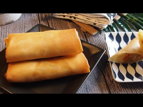 How to make the BEST Spring Roll / Better than Egg Roll 香脆春卷