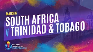 South Africa v Trinidad & Tobago | Match 6 | NWC2019