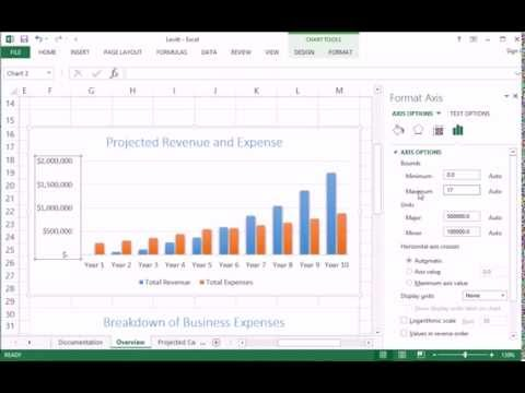 415 Changing vertical axis scale in Charts in Excel - CIS 101
