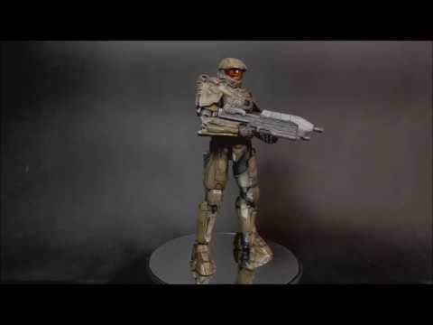 Halo 4 Master Chief. Bandai Sprukit Level 3