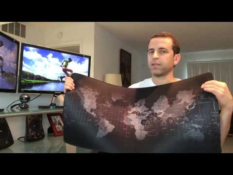 World Map Mouse Pad Review