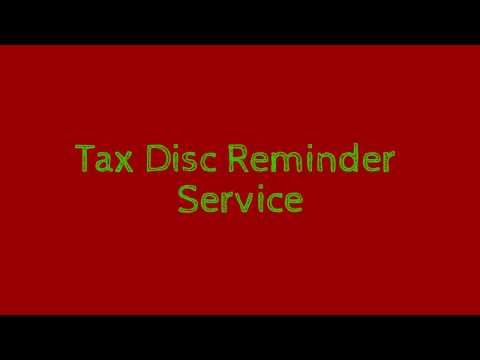 Tax Disc Reminder | MOT Reminder Don't Get Caught Out And Face A Large Fine