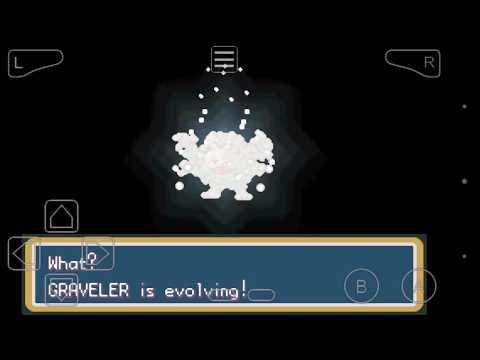 Evolução: Geodude/ Graveler/ Golem- Pokémon Fire Red/ Leaf Green
