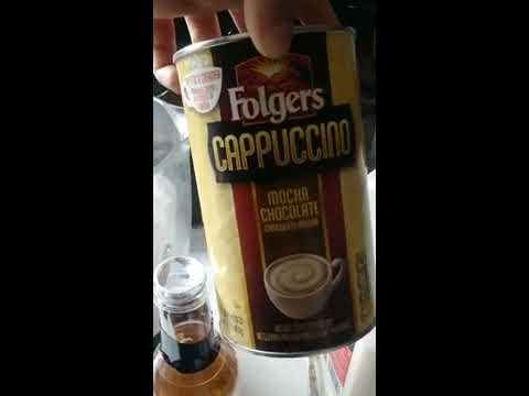 FOLGERS ICED COFFEE AT ITS FINEST!!!