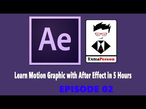 Learn Motion Graphic with After Effect in 5 Hours | Important concepts